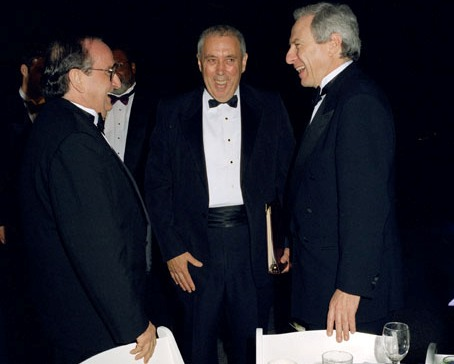 Giuseppe Camera, George Abbey, and Daniel Goldin