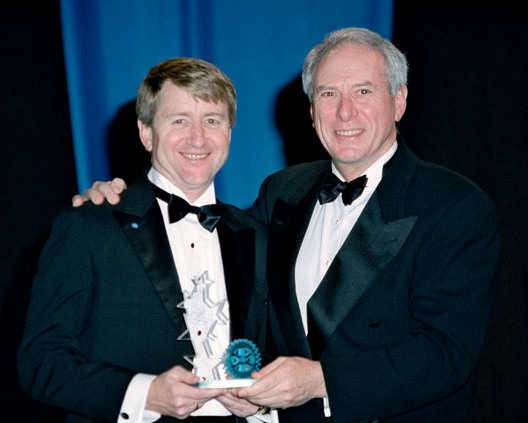 Dan Goldin and Capt. Frank Culbertson, Jr. (USN, Ret)