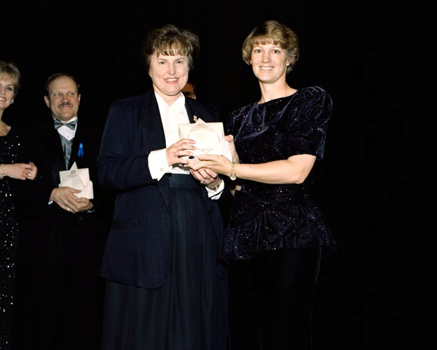 Eileen Collins and Helen W. Lane