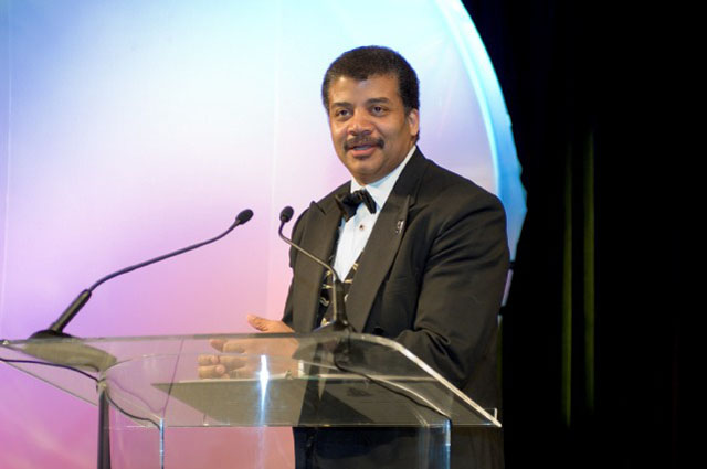 Space Communicator Award Winner, Neil dGrasse Tyson.