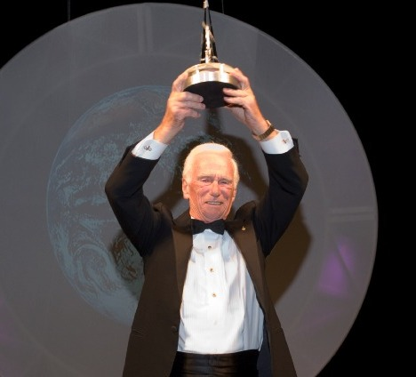 National Space Trophy Winner Gene Cernan.