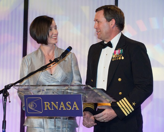 NASA Astronauts K. Megan McArthur and Mike Foreman