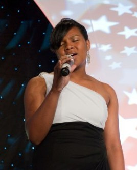 National Anthem Singer Bianca Higgins
