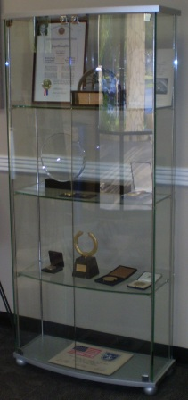 The Corona Award given to Dr. Robert Gilruth
