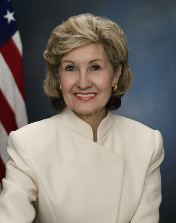 National Space Trophy Winner Kay Bailey Hutchison