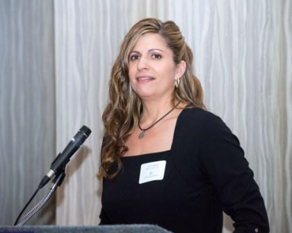 Stellar Committee Chairman Jenny Devolites addresses Stellar Nominees at Nassau Bay Hilton