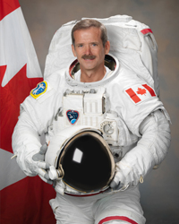 Former astronaut Chris A. Hadfield