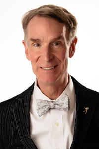 Headshot of Bill Nye, Space Communicator Award Recipient