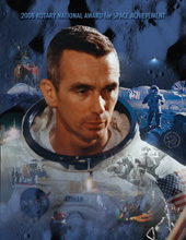 Cover of 2008 program by artist Pat Rawlings.